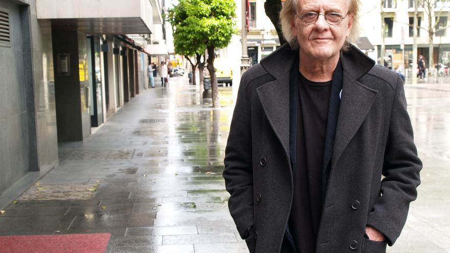 Luis Eduardo Aute ha presentado su libro de poemas en Sevilla /Foto: María Iglesias