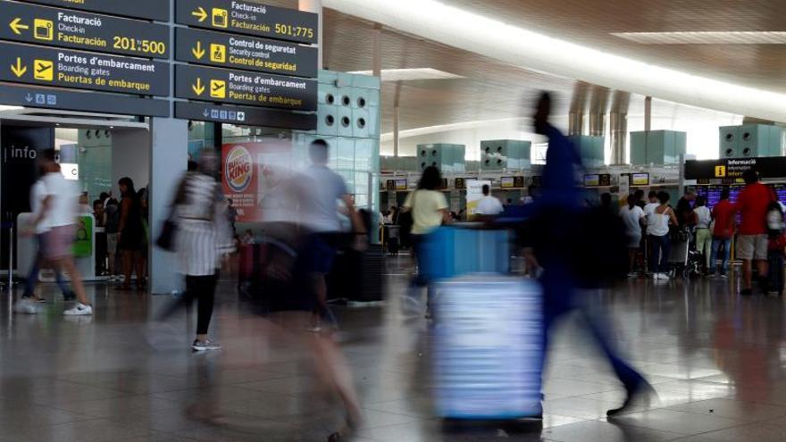 Normalidad en el segundo día de huelga de Iberia, con un 7,09% de seguimiento