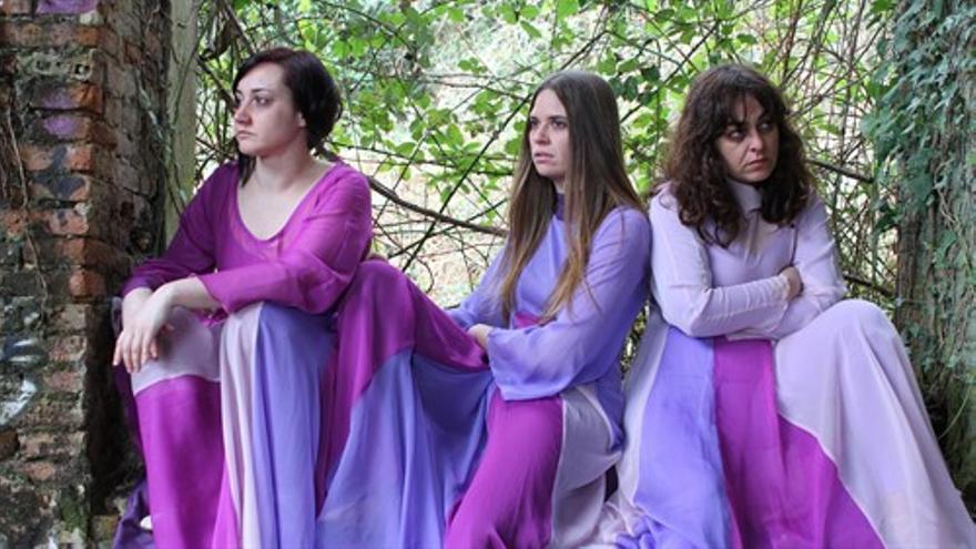 Tres Patas Producciones en la representación 'Psicosis 4:48'.