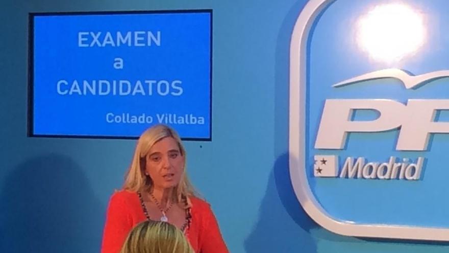 El primer 'interrogatorio' del PP de Madrid a un candidato termina tras una hora y 16 preguntas de la prensa