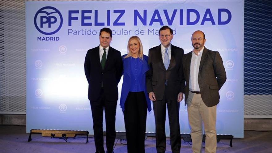 Cristina Cifuentes subraya la unidad del PP en torno a Mariano Rajoy