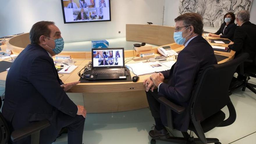 Feijóo presenta unos presupuestos para la era poscoronavirus en Galicia en los que la partida para sanidad crece menos que la media