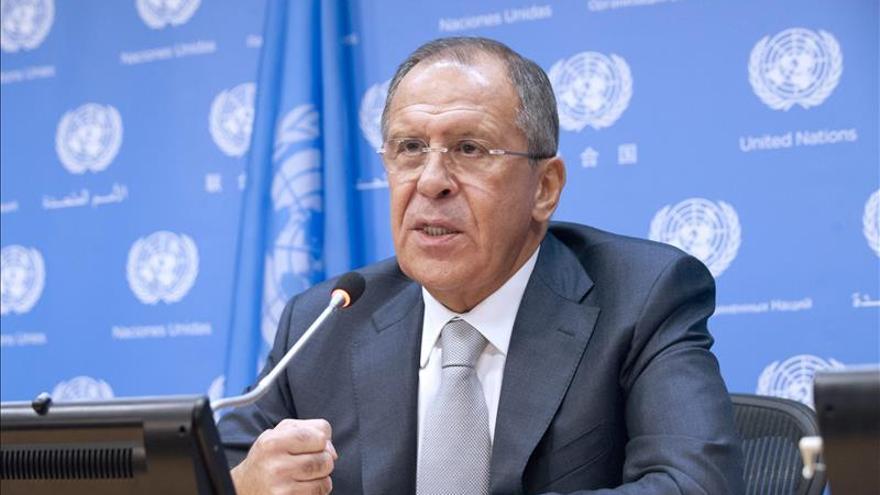 Lavrov descarta negociaciones sin representantes del este Ucrania