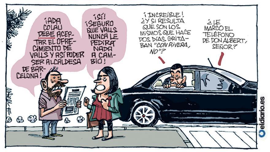 Colau y Valls