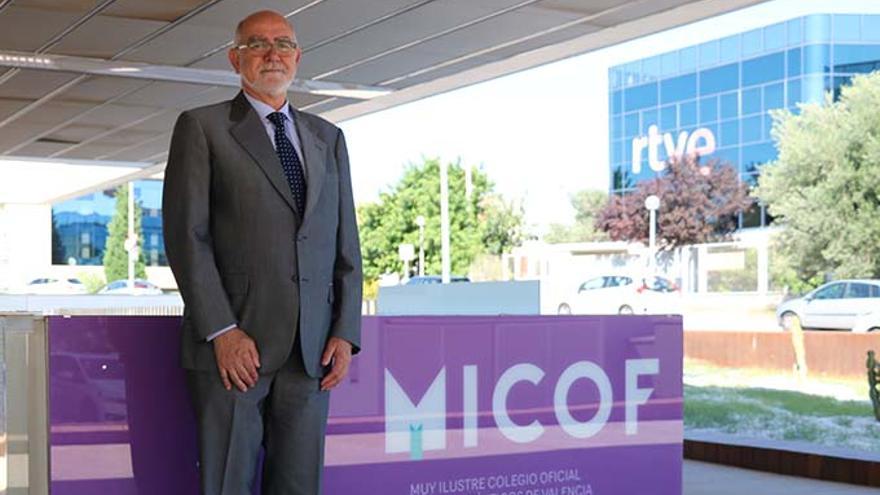 Jaime Giner, presidente del Colegio de Farmacéuticos de Valencia.