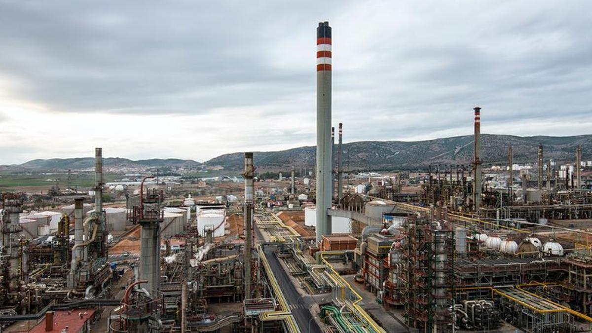 Complejo Repsol en Puertollano (Ciudad Real)