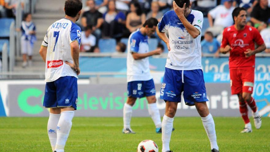 El Tenerife sigue sin conocer la victoria