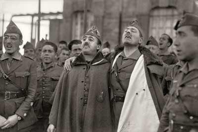 Franco y Millán Astray | Foto: BARTOLOMÉ ROS