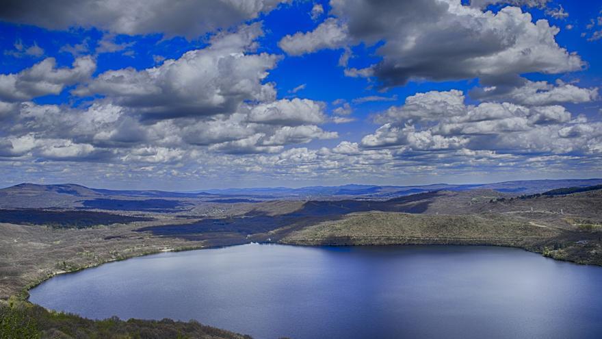 Vista general del Lago de Sanabria. M.P.