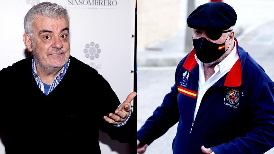 Millán Salcedo recuerda cuando el comisario Villarejo fue el monstruo de Frankenstein de Martes y Trece