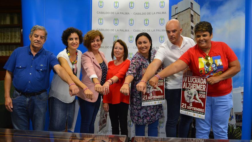 Canaria,IV,Luchada,Alzheimer,LaPalmade la luchada este jueves.