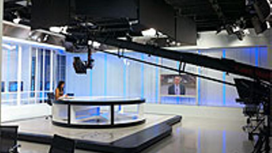 Plató de RTVC.
