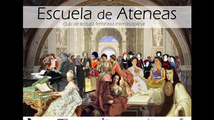Cartel Escuela de Ateneas