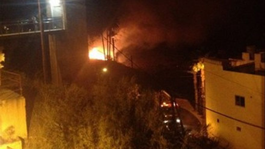 Incendio en Lomo Verdejo. (MICHAEL SCHLEGELMILCH)