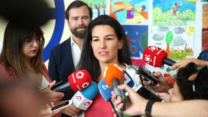 """Rocío Monasterio espera que Vox sea """"determinante"""" en la comunidad de Madrid"""