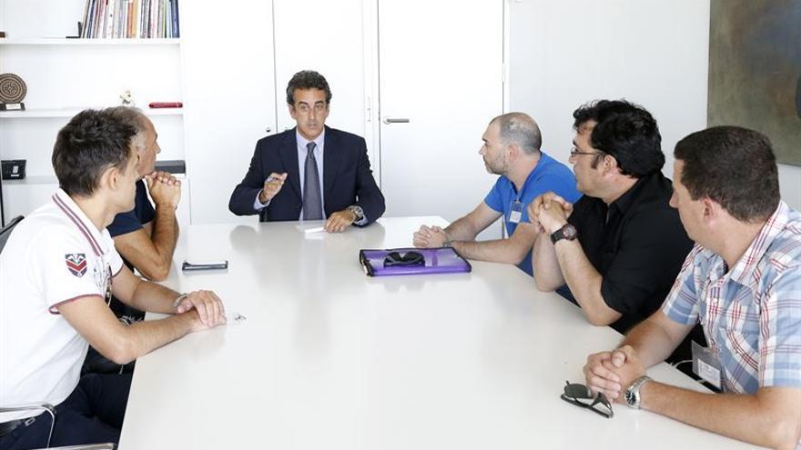 Durante la reunión mantenida hoy con Nestor Martin