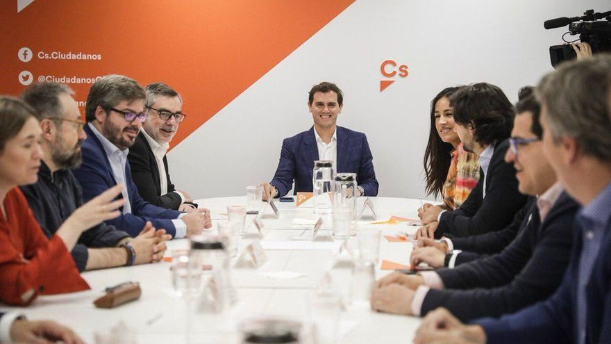 La Ejecutiva de Ciudadanos, presidida por Albert Rivera