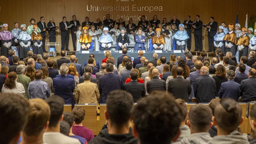 Inauguración oficial del curso académico en Uneatlántico. | ARCHIVO