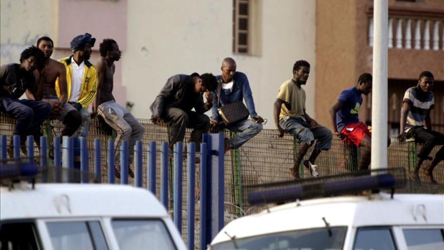 Unos 16.000 inmigrantes han intentado entrar a Melilla por la valla este año
