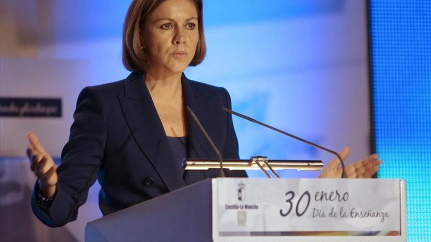 Cospedal dice que es el momento del PP para devolver la ilusión a Andalucía