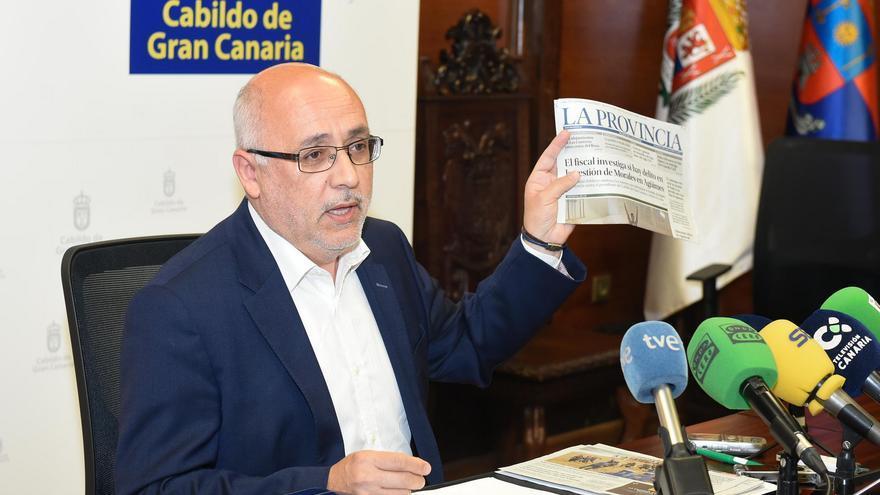 El presidente del Cabildo de Gran Canaria, Antonio Morales. FLICKR CABILDO DE GRAN CANARIA.