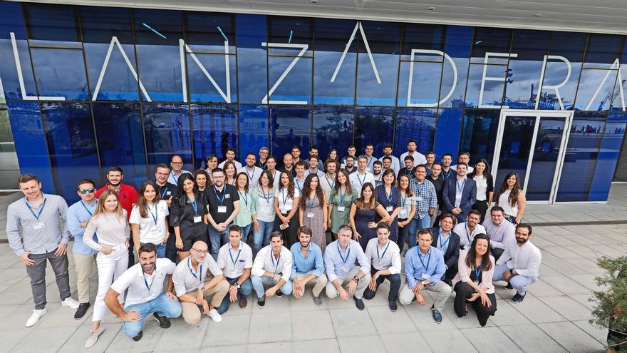 Nuevos emprendedores de Lanzadera.