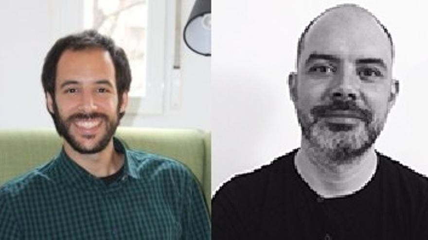 Daniel Sorando y Álvaro Ardura