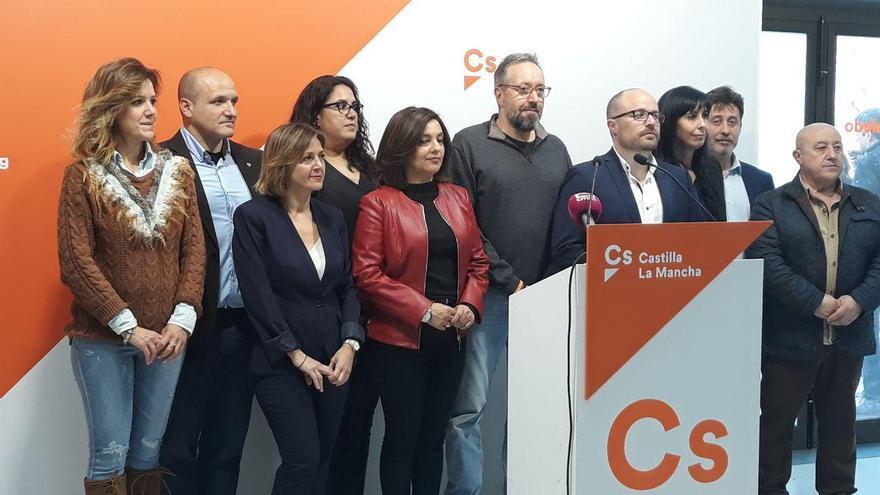 Ciudadanos ha presentado hoy sus candidaturas al Congreso y al Senado por la provincia de Toledo