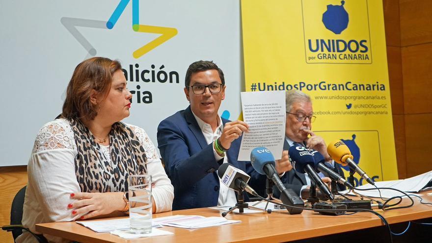 Beatriz Calzada, Pablo Rodríguez y José Miguel Bravo de Laguna.