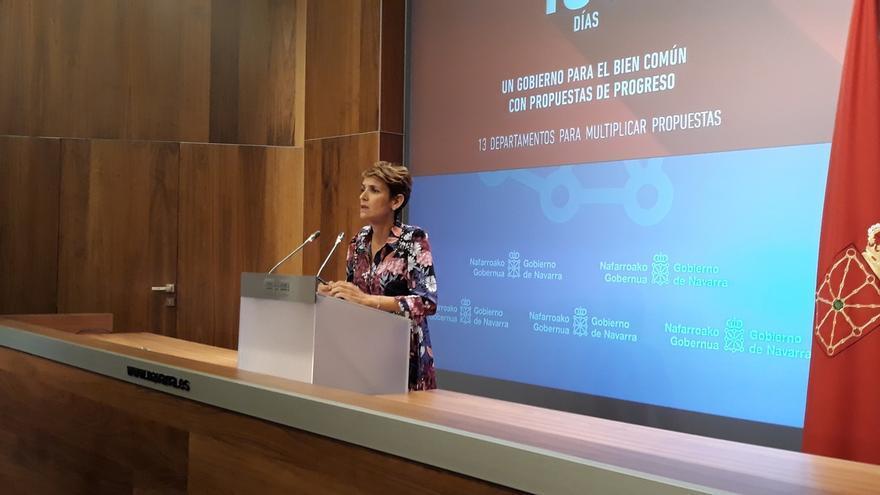 María Chivite afirma que el Gobierno foral no contempla una prórroga presupuestaria y que liderará el diálogo