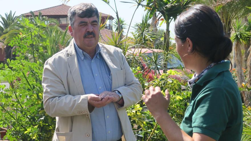 Juan Manuel González es consejero de Medio Ambiente del Cabildo.
