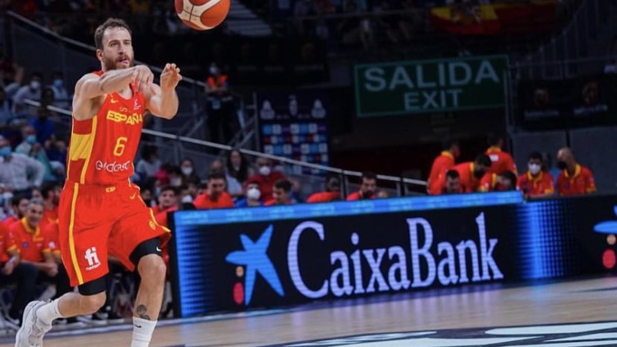 Sergio Rodríguez buscará en Tokio su tercera medalla.