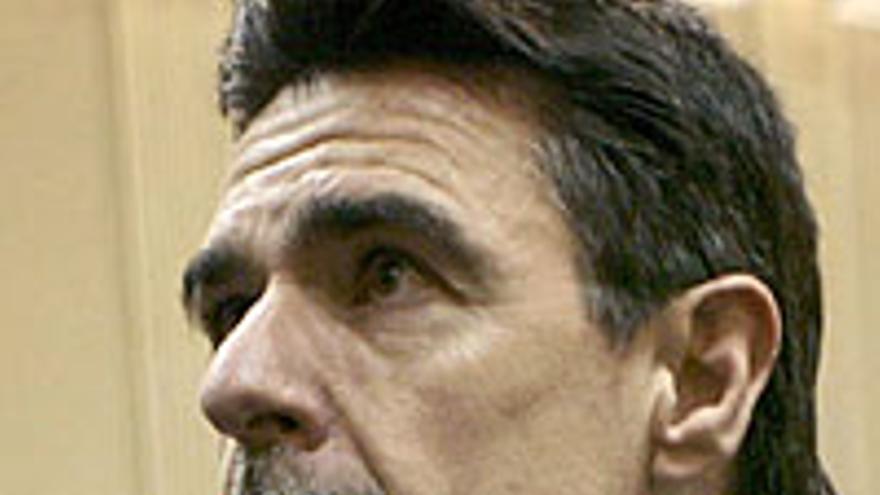 José Manuel Soria, en posición de ataque.