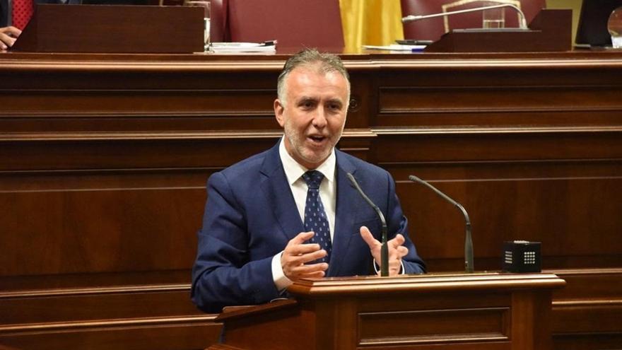 El presidente de Canarias Ángel Víctor Torres.
