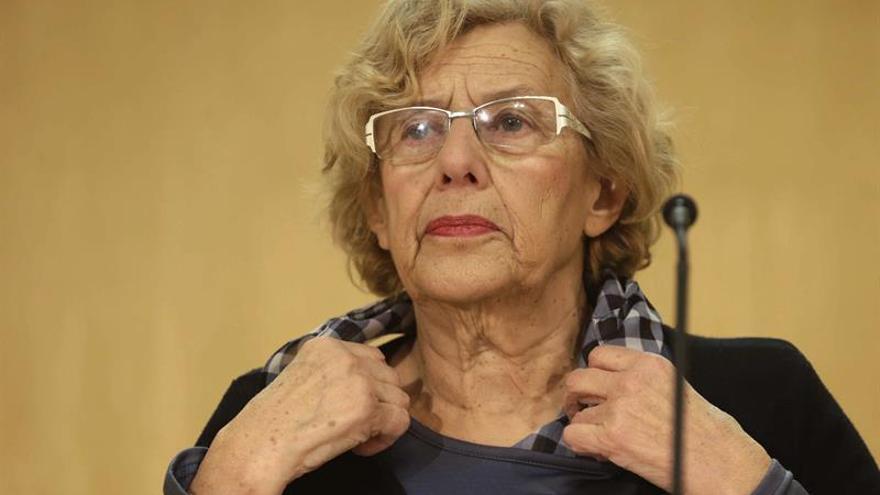 La alcaldesa de Madrid, Manuel Carmena