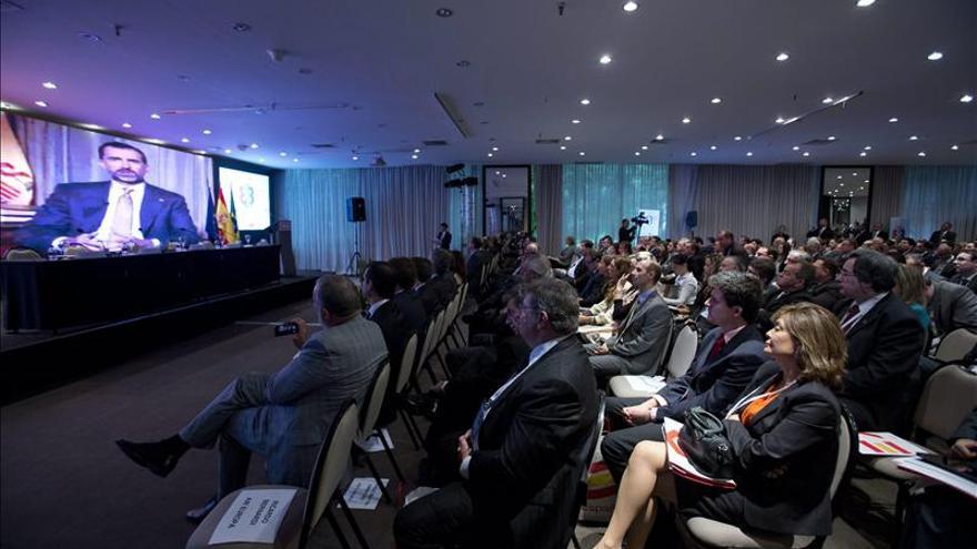 Felipe de Borbón apoya a las empresas españolas en Brasil a través de videomensaje