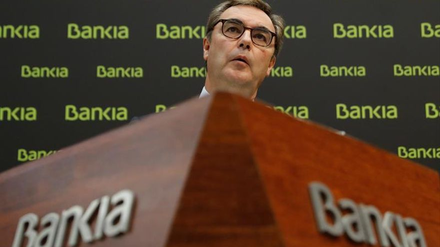 Bankia supera ampliamente los requisitos de capital del BCE para 2017