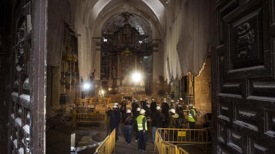 La Iglesia de la Magdalena en Zaragoza revela más de 2.000 años de historia enterrada