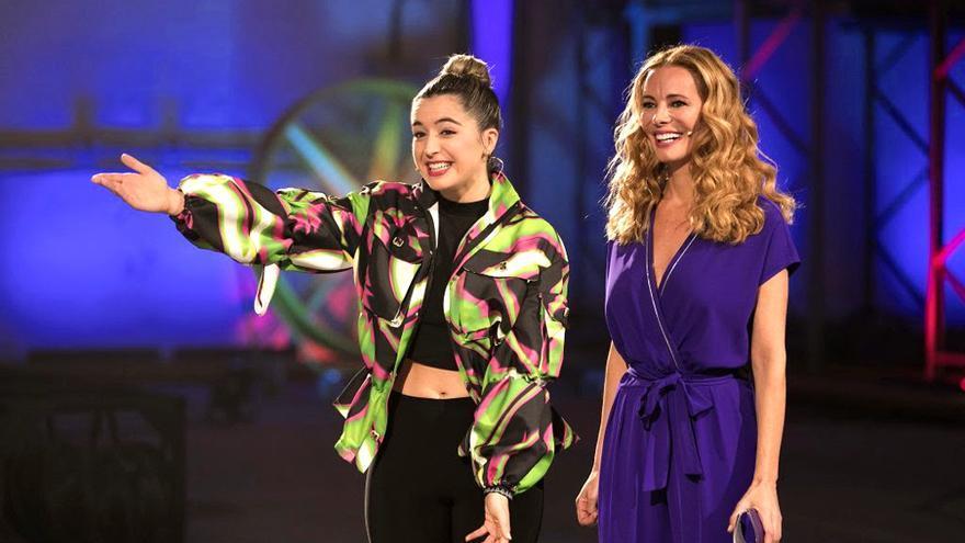 Mimi en Fama, junto a Paula Vázquez