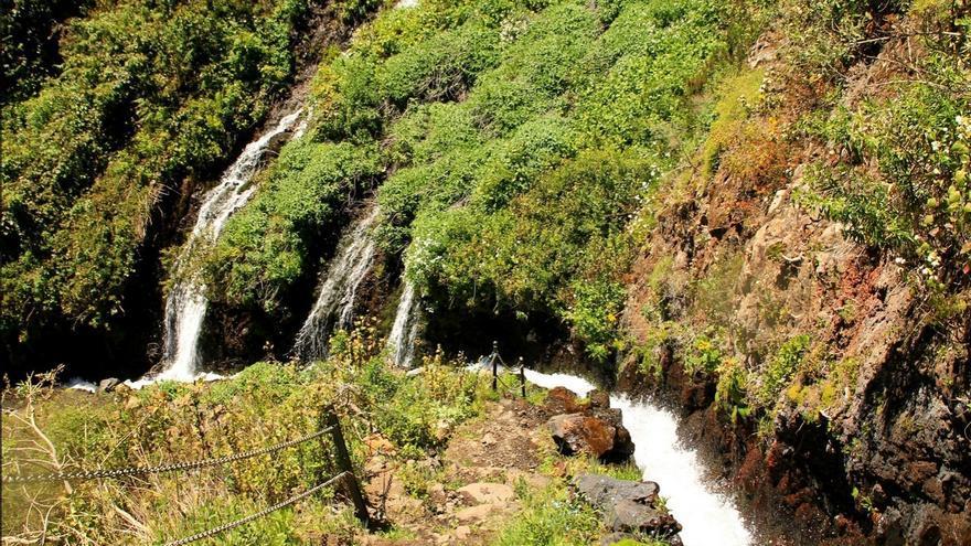En la imagen, panorámica de los Nacientes de Marcos y Cordero, en el municipio de San Andrés y Sauces. Foto: palmerosenelmundo.com