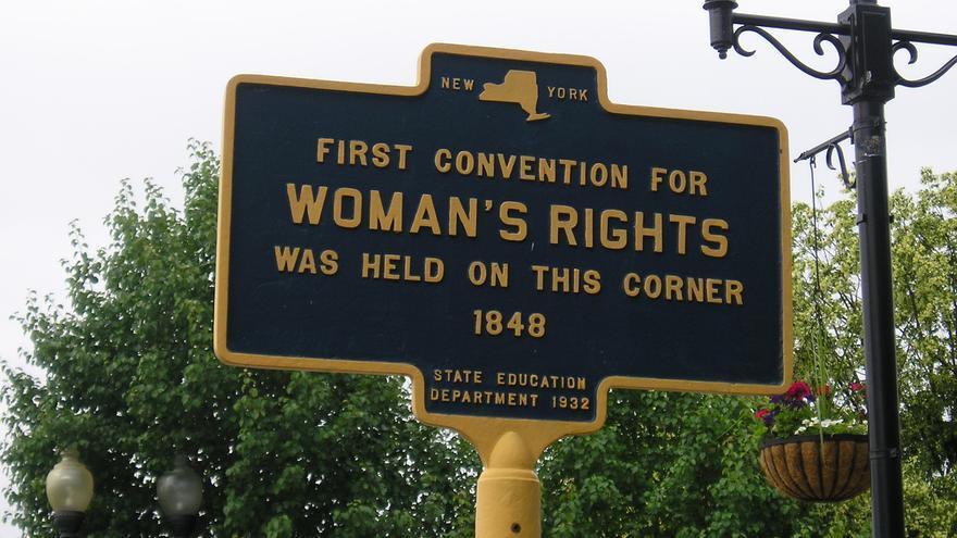 La Convención de Seneca Falls por los Derechos de las Mujeres tuvo lugar en 1848