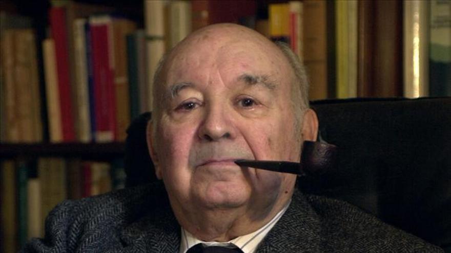 El filólogo y medievalista Martí de Riquer, fallecido el pasado mes de septiembre