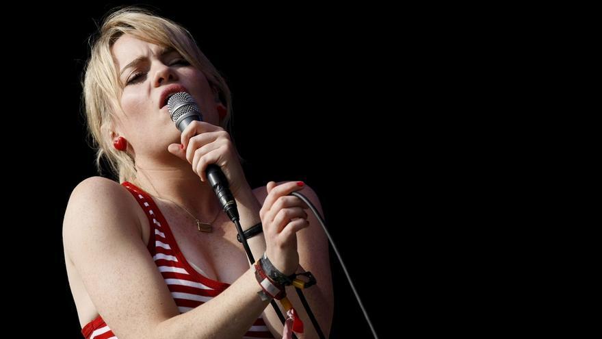 La cantante británica Duffy. EPA/FRANTZESCO KANGARIS/Archivo