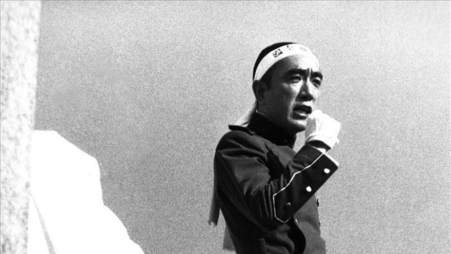 Se cumplen 45 años de la muerte de Mishima, el personaje que eclipsó al autor
