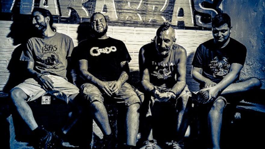 La banda de punk asturiana Fe de Ratas.