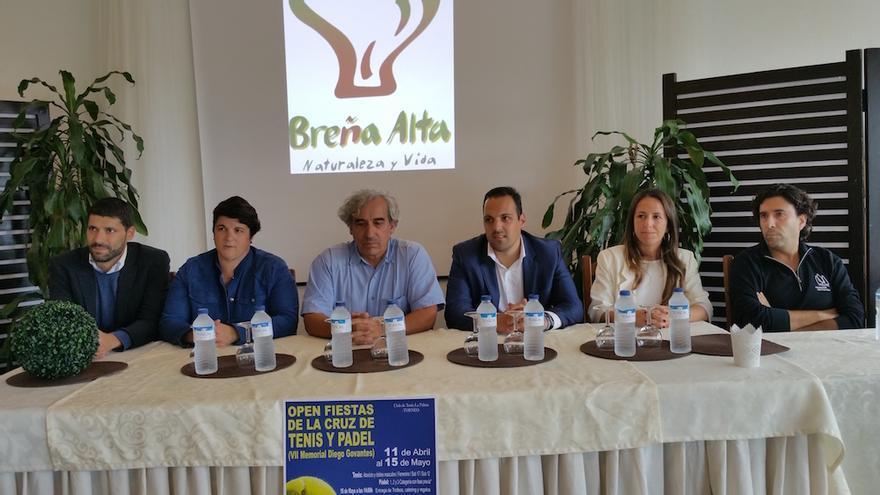 De izquierda a derecha, Daniel Rodríguez, Ascensión Rodríguez, Cristóbal Govantes, Jonathan Felipe, Cristina Daranas y Javier Moreno.
