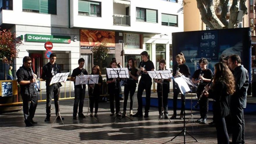 Actuación de la Escuela Municipal de Música de Cuenca. Foto de la escuela.