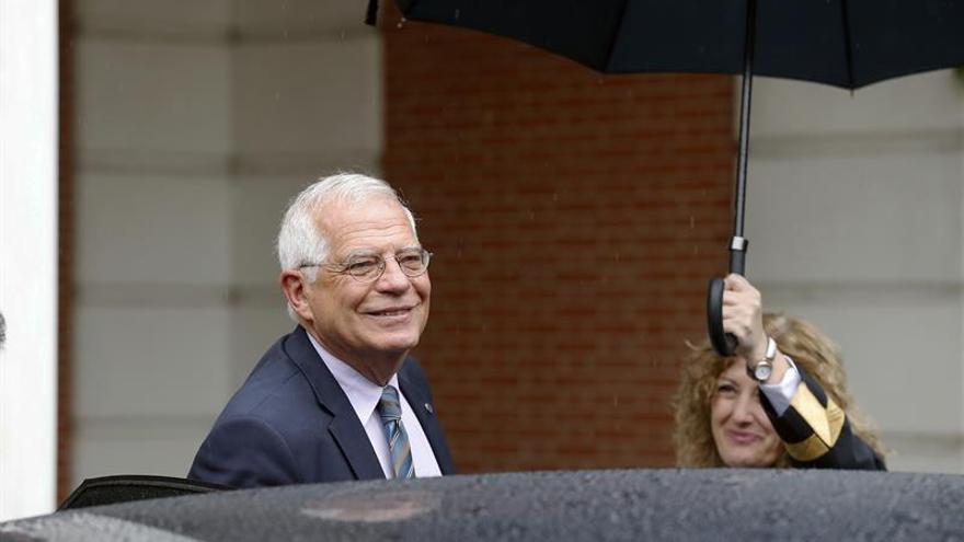 Borrell asegura que España aceptará lo que decida Alemania sobre Puigdemont