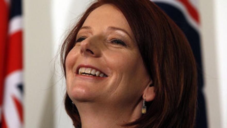 Primera Ministra australiana, Julia Gillard