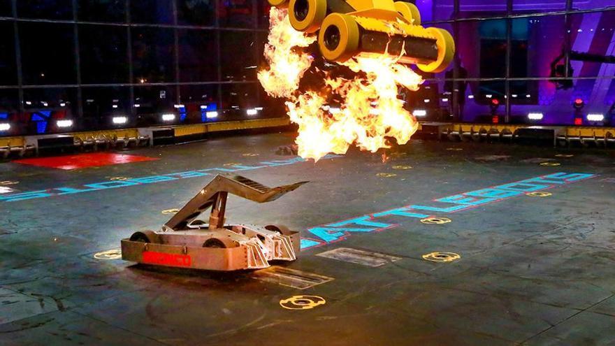 La ABC ha vuelto a retransmitir 'Battlebots', agresivas batallas entre autómatas